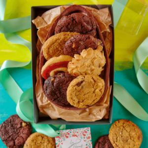 Ovo de Brownie com Cookies